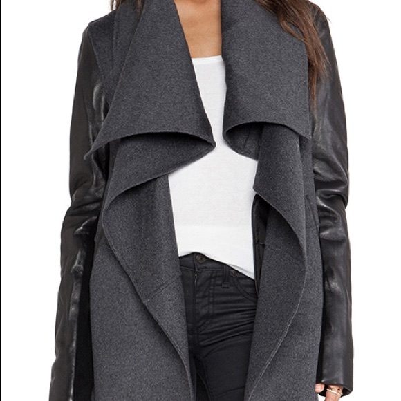 MACKAGE Womens Small Vane Jacket in Gray